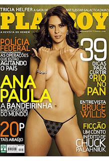 Brazilianca Playboy Ana Paula Oliveira
